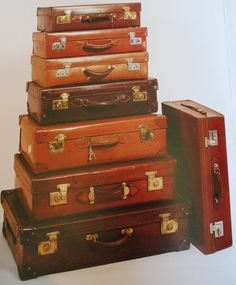 Vintage Luggage briefcases from England