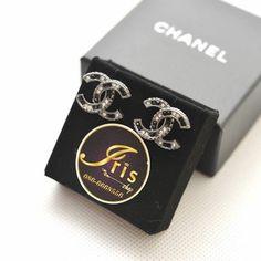 ต่างหู Chanel Earrings CC RHW 15B ของใหม่พร้อมส่ง‼️ - Iris Shop
