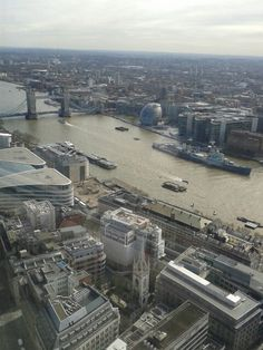 The River Thames from the Sky garden