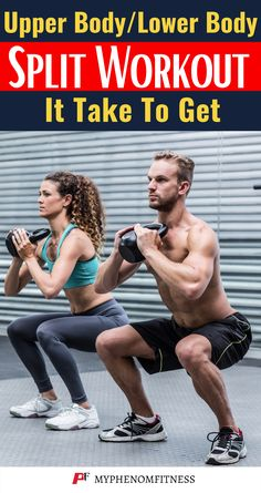 """This is one of my favorite workout routines as it allows you to work every muscle group twice a week. This 4 day upper body/lower body split workout routine is in the muscle hypertrophy phase. There are also strength and endurance workouts already posted to the """"workout"""" section of the site as well. I did not include the amount of weight needed for each exercise. Everyone's different so pick a weight that you can complete the number of reps for each set."""