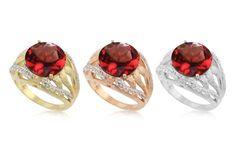Découvrez nos superbes bijoux serties de Grenats rouges - Juwelo, votre bijouterie en ligne