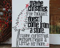 grinch christmas quote on Etsy, a global handmade and vintage marketplace.