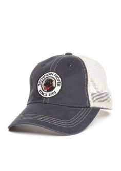 8f27a3be22d Southern Proper Men s Sopro Trucker Hat - Navy Stone - One Size Southern  Proper