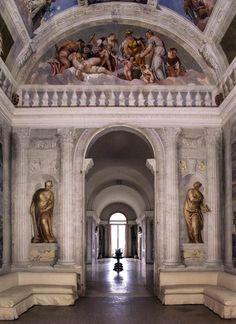 77. VILLA BARBARO (1549-58),frescos de Veronés.Sala del Olimpo (1560-61)