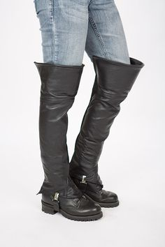 Leather Half Chaps by Lissa Hill