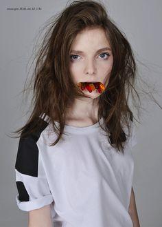 we rarely remember our youth: nora shopova by vasil germanov for 12 magazine <3  publication: 12 magazine model: nora shopova (one) photographer: vasil germanov (thinktanklab) stylist: huben hubenov hair and make-up: slav #fashion #photography
