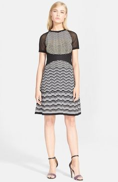 M Missoni Metallic Wave Knit Dress available at #Nordstrom