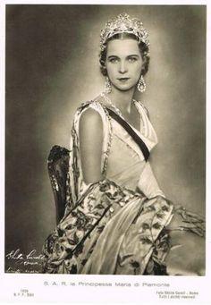 Queen Marie Jose of Italy, nee Princess of Belgium 1906 – 2001