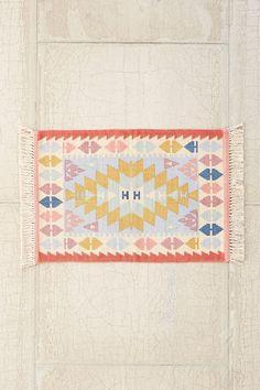 Slide View: 3: Isolde Kilim Printed Rug