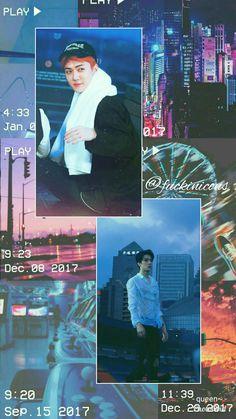 Trendy Wallpaper, Tumblr Wallpaper, Aesthetic Iphone Wallpaper, Aesthetic Wallpapers, Rainbow Aesthetic, Kpop Aesthetic, Kpop Exo, Sehun, Sekai Exo