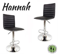 Special Offers - DevLon NorthWest Hannah Ultra Modern Bar Stool-Set of 2 (Black) - In stock & Free Shipping. You can save more money! Check It (June 01 2016 at 10:51PM) >> http://kitchenislandsusa.net/devlon-northwest-hannah-ultra-modern-bar-stool-set-of-2-black/