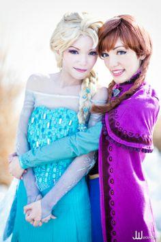 Elsa dress Construction Notes