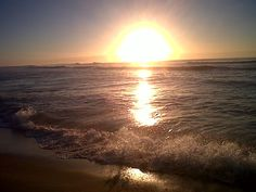 Sunrise on the beach : Port Alfred African Image, South Africa, Sunrise, Celestial, Beach, Places, Outdoor, Outdoors, The Beach