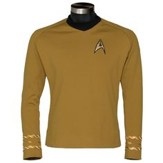 Also MUST have, but not as badly as the TWOK Monster Maroon. Second most wanted uniform.-- Star Trek: The Original Series - Captain Kirk Tunic - Premier Line | ANOVOS Productions LLC