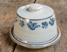 Nicholas Mosse Pottery Covered Butter Dish Hand Thrown Pottery Plate Ireland