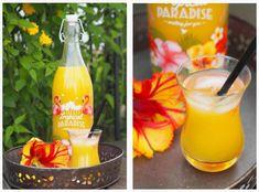 Aloha Party, Unique Recipes, New Recipes, Cocktail Drinks, Cocktails, Mango, Tropical Bridal Showers, Luau Theme, Kabob Recipes