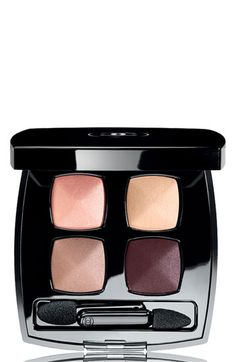 So pretty! Chanel Les 4 Ombres Quadres Eyeshadow in Eclosion, Spring 2012 Collection.