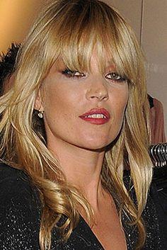 Kate Moss bangs