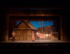 Fiddler on the Roof. Arizona Broadway Theatre. Scenic design by Douglas Clarke.