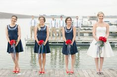 Nautical Wedding Inspiration photo by Will  Stacey