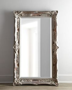 """""""Antique French"""" Floor Mirror at Horchow.Yeah right it's $600 but oh how I want something like this..garage sale? :)"""