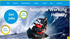 Visit Working Holidays for basic requirements for work and travel in Australia.#workingholidays #Australia#travel