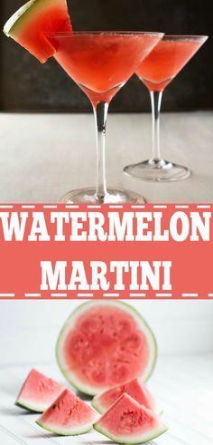 watermelon-martini-recipe-watermelon-drink-recipe/ - The world's most private search engine Triple Sec, Pina Colada, Watermelon Martini Recipes, Watermelon Alcoholic Drinks, Strawberry Martini, Mojito, Gin, Martini Bar, Martinis