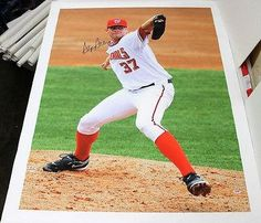 Stephen Strasburg Signed Autographed Huge Canvas 44x36 Nationals S20666 - PSA/DNA Certified - Autographed MLB Art * See this great product.