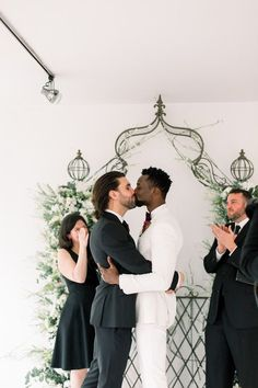 This intimate at-home wedding is sure to make your heart swell with happiness! Soulmates Adam & Tee decided to tie the knot in a beautiful ceremony at their cozy apartment. See more rustic wedding inspiration at rusticweddingchic.com | Photo: Nicole Morisco Photography Rustic Wedding Inspiration, Wedding Ideas, Cozy Apartment, Bridesmaid Dresses, Wedding Dresses, Home Wedding, Tie The Knots, Special Day, Happiness