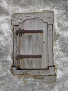 little grey door
