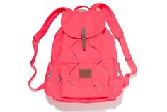 Pink bookbag