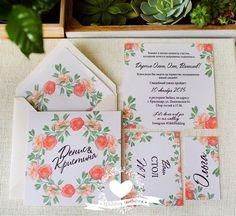 Свадебные пригласительные PrettyPaper: