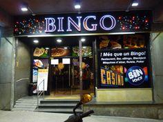 Rotulo leds vistos bingo valldaura
