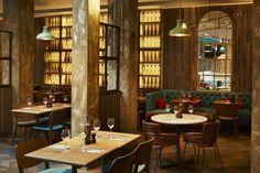Wildwood Kitchen (Liverpool, UK), Restaurant or Bar in another space Home Design, Interior Design, Cafe Restaurant, Restaurant Design, Restaurant Interiors, Visual Merchandising, Wildwood Kitchen, Liverpool Uk, Uk Retail