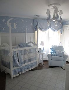 Your Little Kid's Room - Baby Nursery Interior Design Ideas 11. I just had to pin this...beautiful!