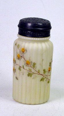 Antique MT Washington Smith Brother Stain Art Glass Sugar Shaker Muffineer | eBay