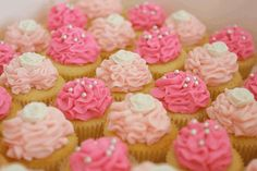 little girls tea party cupcakes