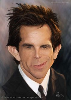 Cool 30 Amazing Caricatures of Celebrities illustrations picture #celebrities