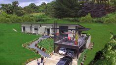 : Casas de estilo moderno por Arquitectos y Entorno S.A.S Urban Design, Ideas Para, My House, Pergola, Sweet Home, Deck, Exterior, House Design, Patio