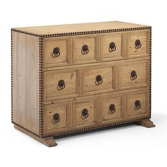 Sonora Canyon Studded Chest - Chests / Mirrors - Furniture - Products - Ralph Lauren Home - RalphLaurenHome.com