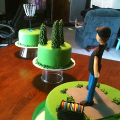 disc golf cakes | Ohthatcake: disc golf cake | disc golf.