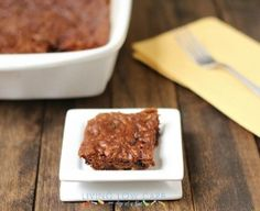 Flourless Paleo Brownies with a Special Ingredient (Low Carb) - Living Low Carb One Day At A Time
