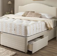 Vi Spring divan & mattress sleep luxury from the finest