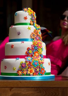 Stunning Wedding Cake created by Sweetness & Delight Wedding Cakes, captured by Jay Mountford Photography