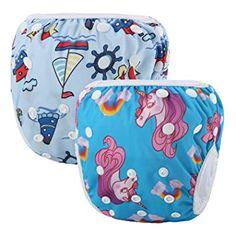 Buy Martofbaby Baby Swim Diaper Reusable Adjustable Swimwear for Newborn Infant Unisex Baby Swim Diapers, Baby Swimming, Disposable Diapers, Baby Car Seats, Infant, Unisex, Children, Swimwear, Young Children