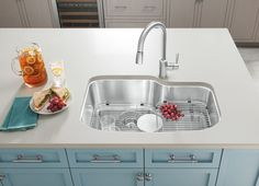 BLANCO QUATRUS stainless steel sink with custom accessories ...