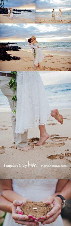 Erin and Shane   Maluaka Beach Makena » Photography by Mariah Milan – Maui Photographers   Hawaii Photographers   Wedding   Family   Seniors   Children   Vacation