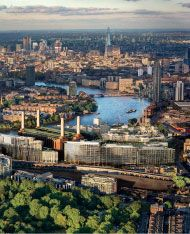London never sits still, with major projects attracting significant foreign investment and collaboration. The iconic Battersea Power Station is at the heart of a major 39-acre redevelopment, including a new Tube Station and high street.