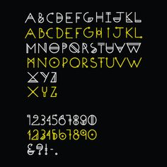 ODYSSEY - Typeface