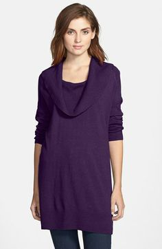 0834105a6dce Caslon® Cowl Neck Tunic Sweater available at  Nordstrom Tunic Sweater